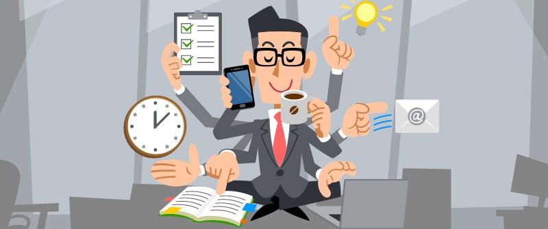 A fi ocupat sau a fi productiv?