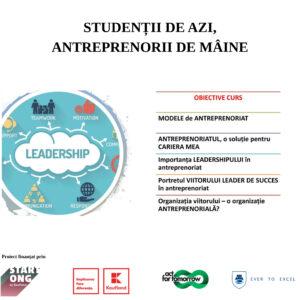 """Trainingul de leadership din cadrul proiectului """"Studenții de azi, antreprenorii de mâine"""" s-a finalizat cu succes!"""