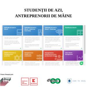 """Competiției de business din cadrul proiectului """"Studenții de azi, antreprenorii de mâine"""" s-a finalizat cu succes!"""